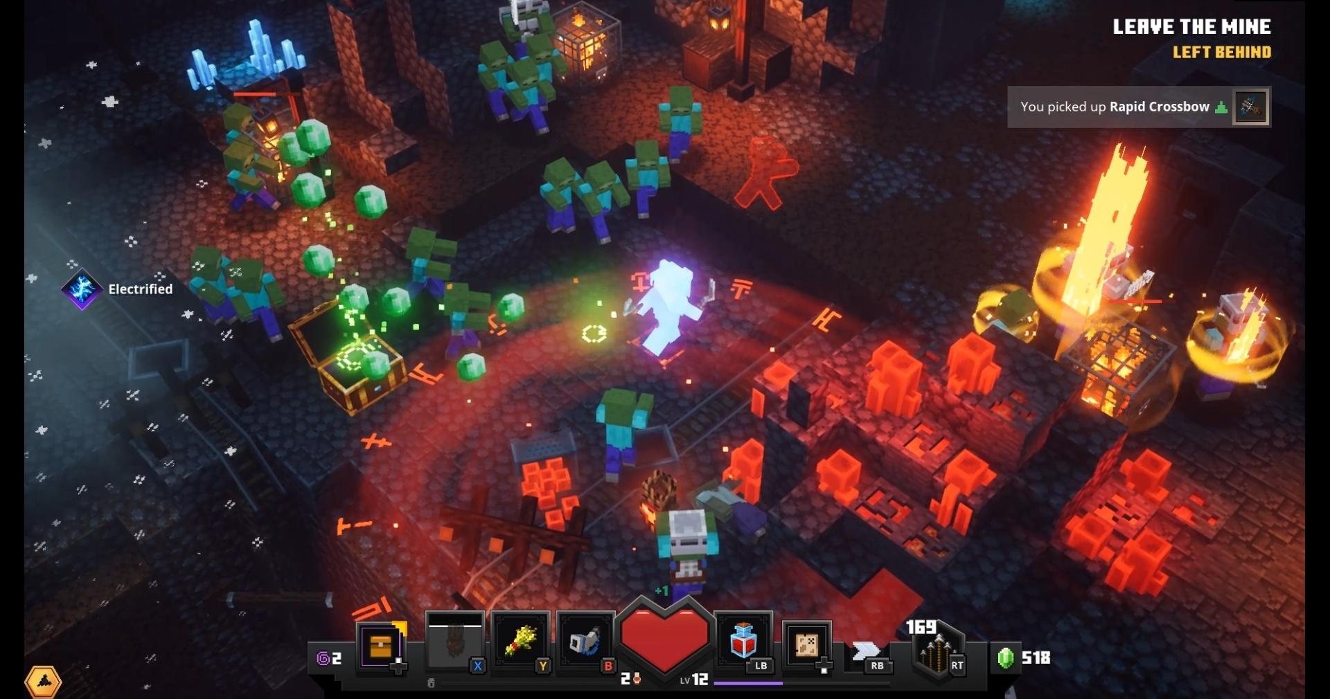 Minecraft Dungeons review  Rock Paper Shotgun