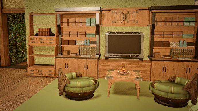 FFXIV - moogie's interior design