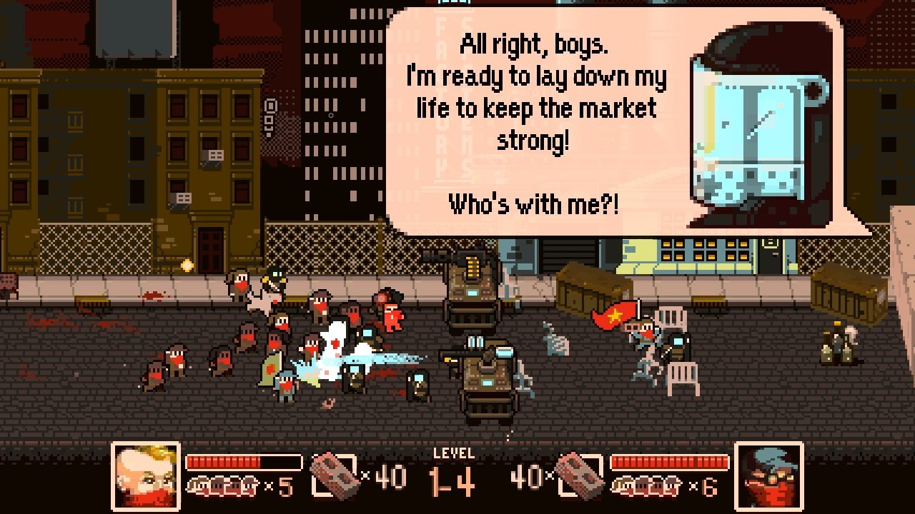 Tonight We Riot is an unashamedly political protest brawler