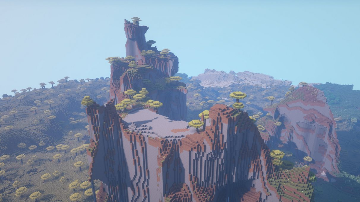 Best Minecraft Seeds 1.16.1 - Extreme Hills Splendour