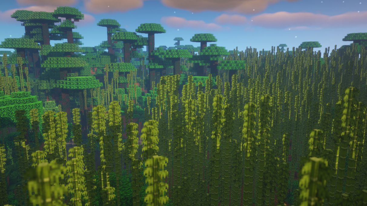 Best Minecraft Seeds 1.16.1 - Bamboo Jungle Temple