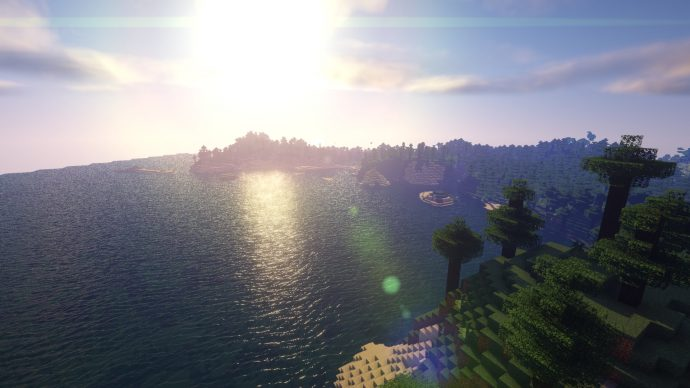 Beyond Belief Shaders boast possibly the best-looking water of any Minecraft Shaders pack.