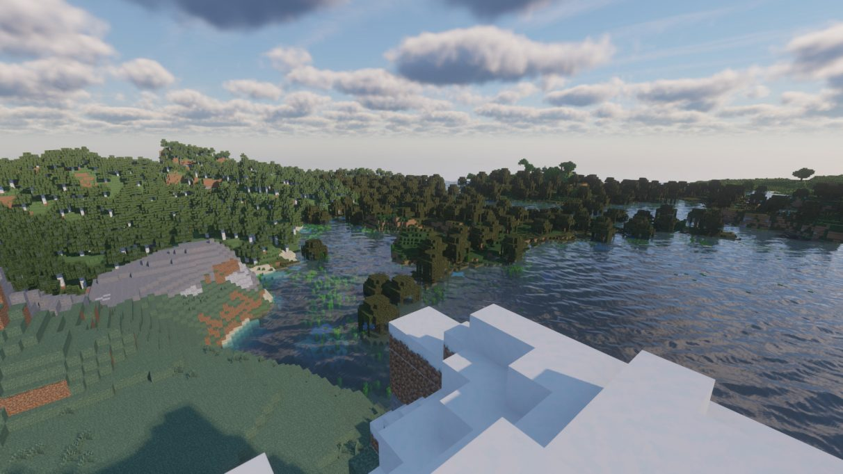 Continuum Shaders for 1.16.1 feature the most realistic lighting we've ever seen in Minecraft.