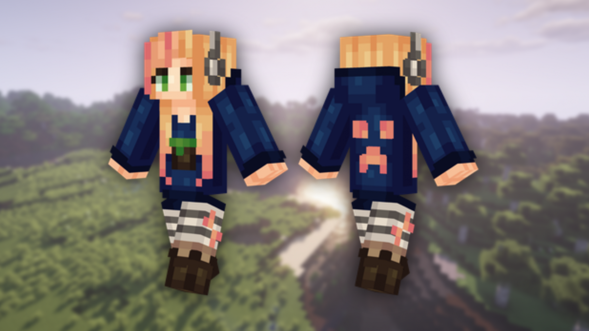 Gamer Girl - Cute Minecraft skins