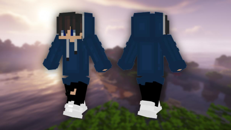 Long Hoodie - Cute Minecraft skins