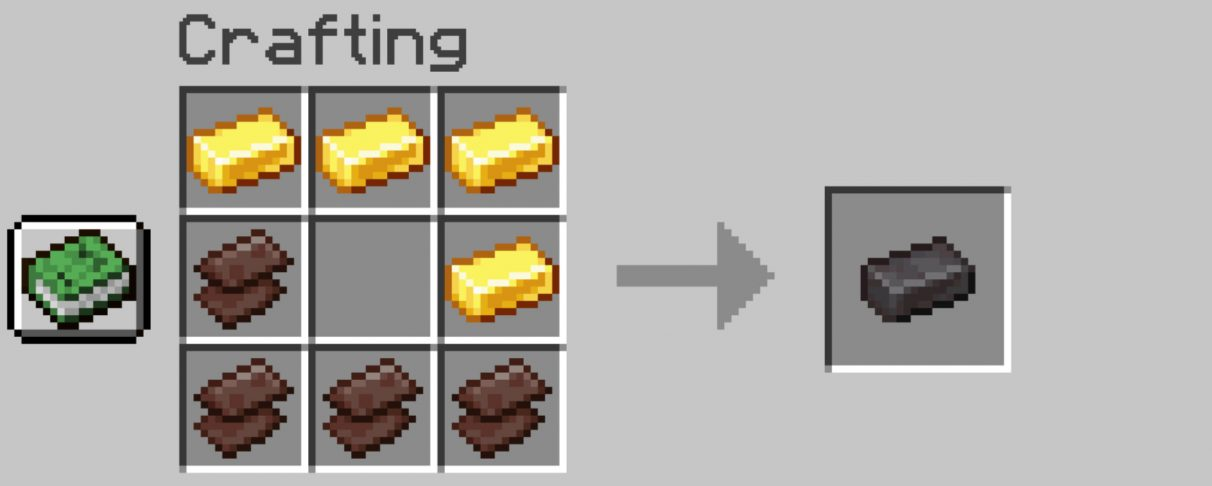 How to craft a Netherite Ingot