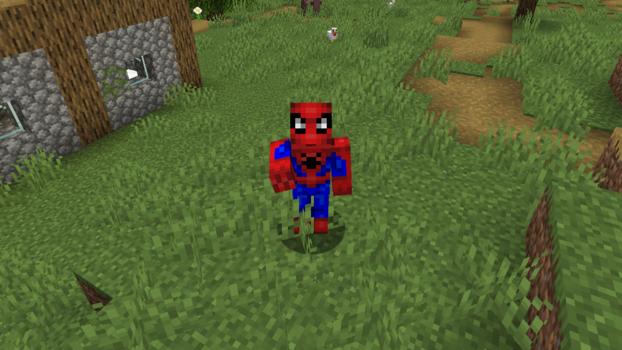 Best Spiderman Minecraft skin