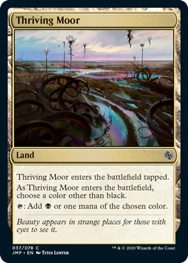Thriving Moor card from Minion variant set for Magic: Arena's Jumpstart.