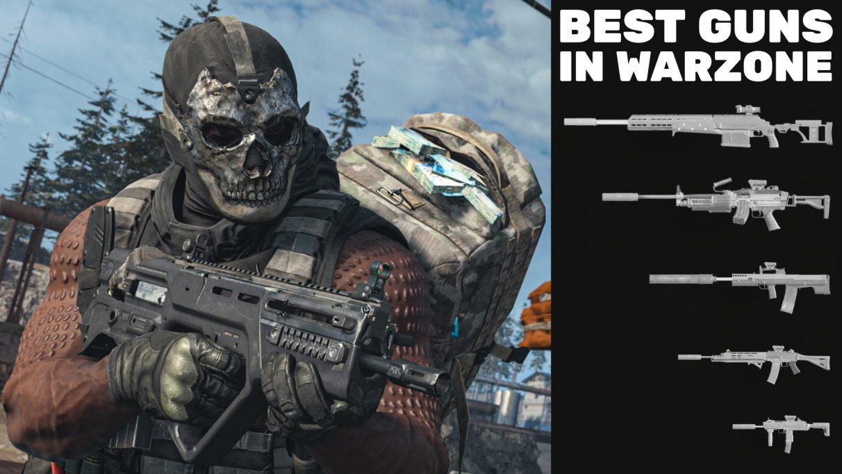 Find out all the very best guns in Warzone with our tried and tested tier list.