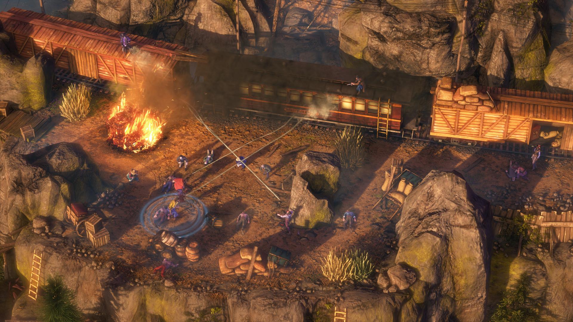 Desperados 3 Speedruns Are Mesmerising Rock Paper Shotgun