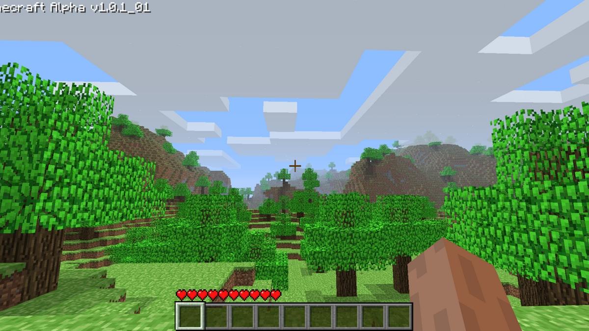 A screenshot of vanilla Minecraft.