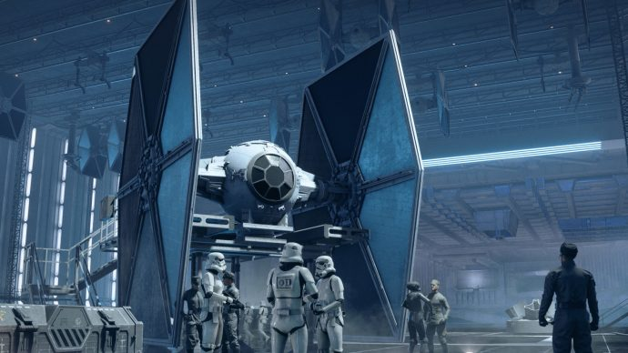 The TIE Fighter is a versatile and balanced ship, but when kitted out for mobility there's little that can stop it.