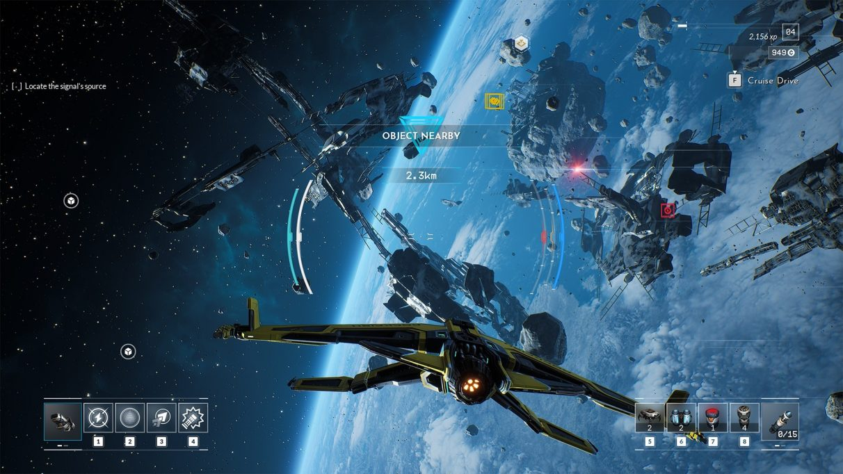 A screenshot of Everspace 2.
