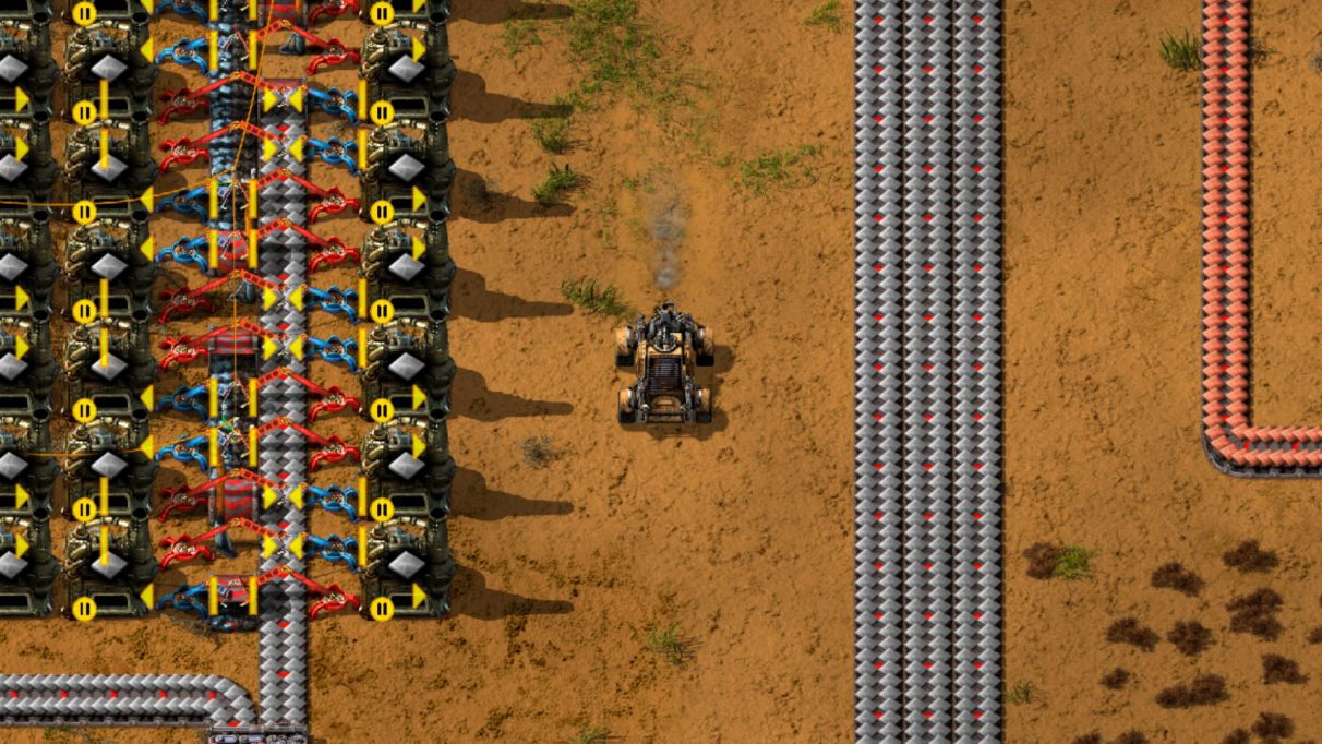 Prioritise creating your first car in Factorio, and you won't be disappointed with the results.