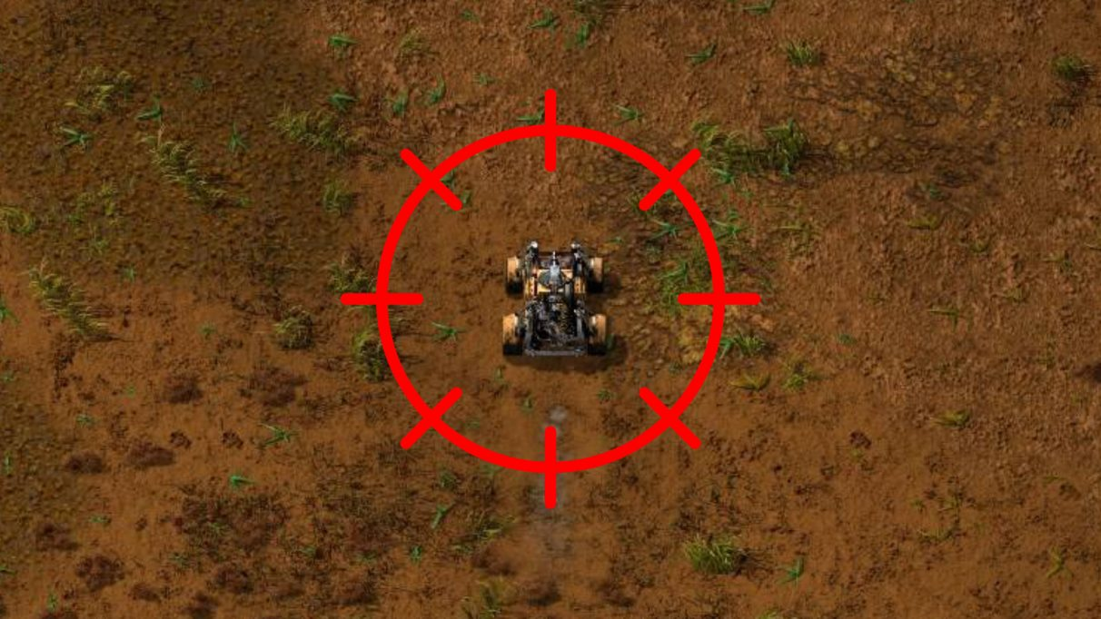 With the VehicleSnap mod, Factorio players can customise the possible snapping angles of your car's current vector.
