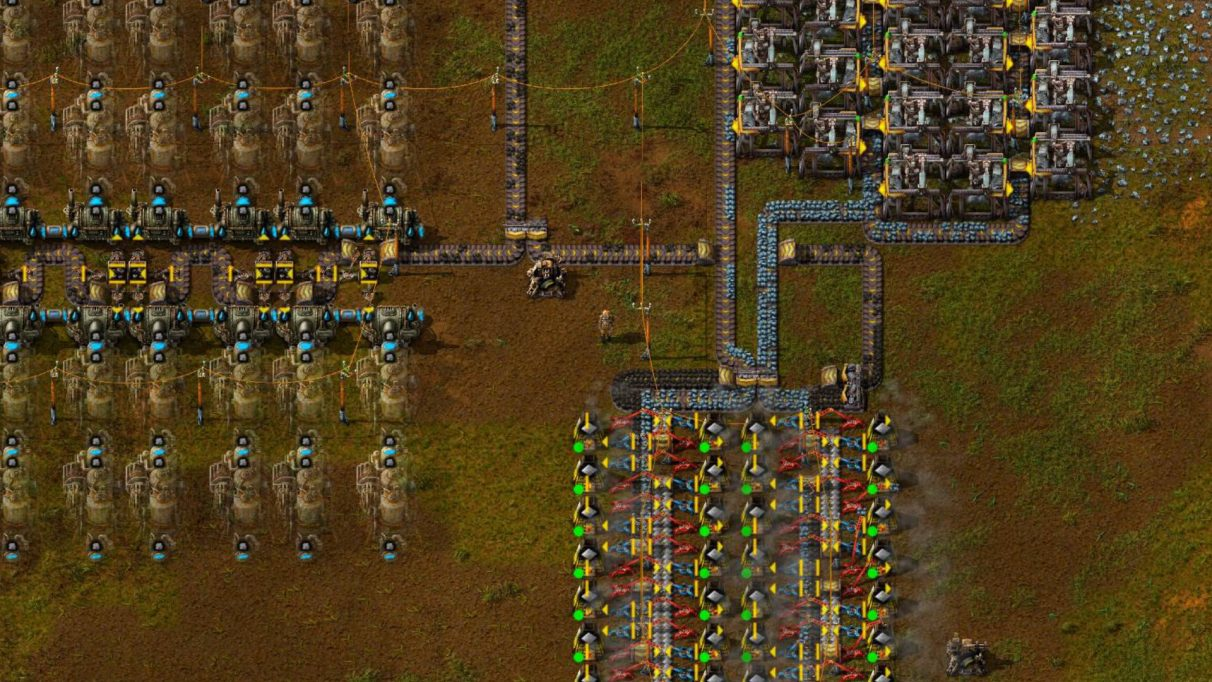 This Factorio early game walkthrough will show you how to have an extremely productive first hour in a new Factorio world.