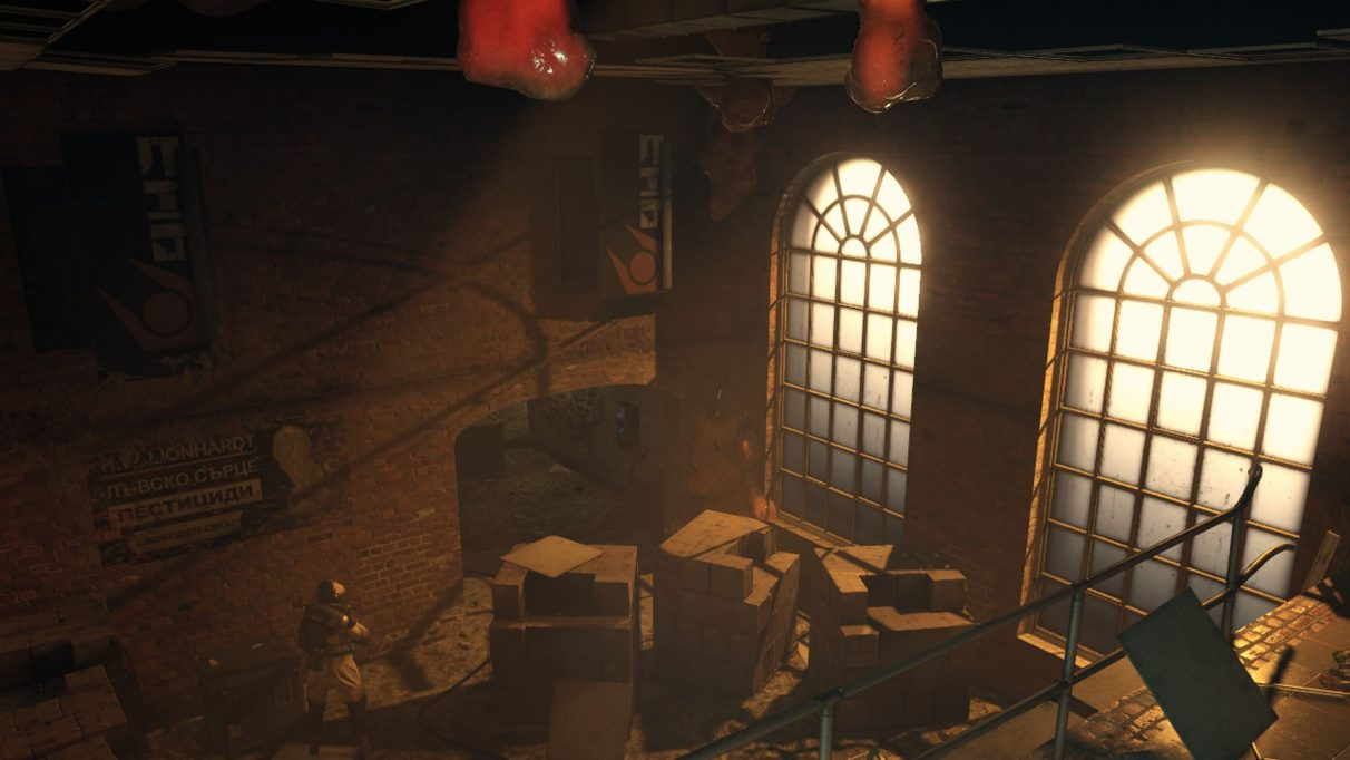 A screenshot of Half-Life: Alyx mod, Brewery Break-in.