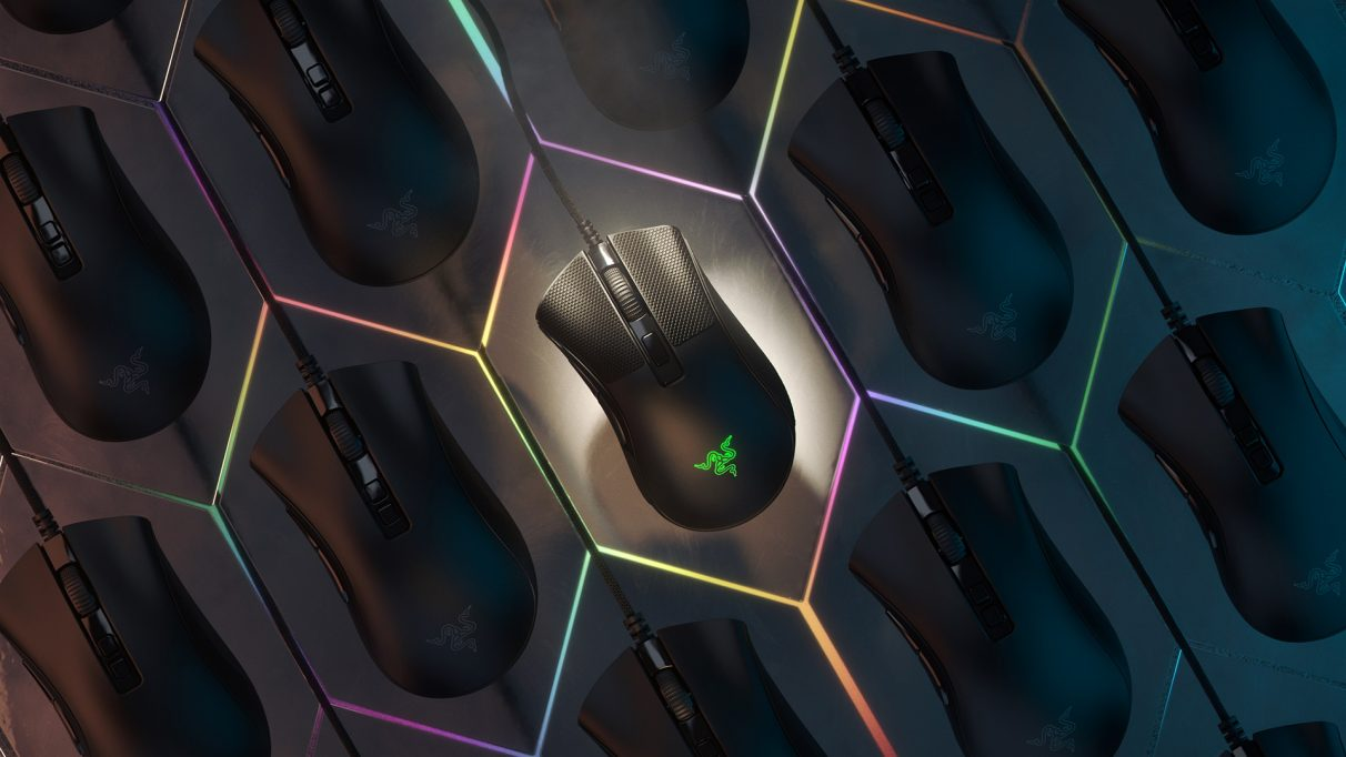 An image of the Razer Deathadder Mini V2