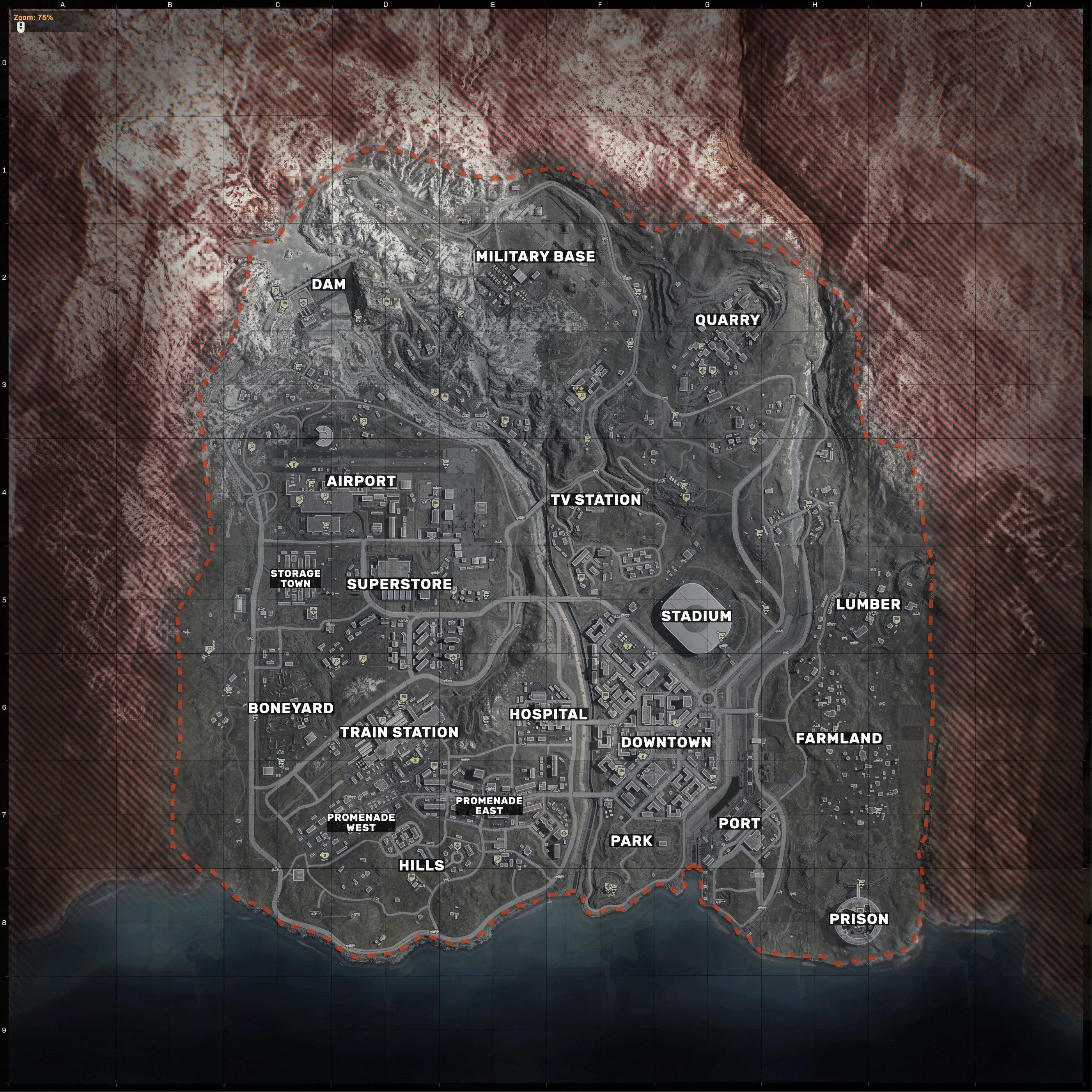 Warzone Map 20 Best Loot Locations Rock Paper Shotgun