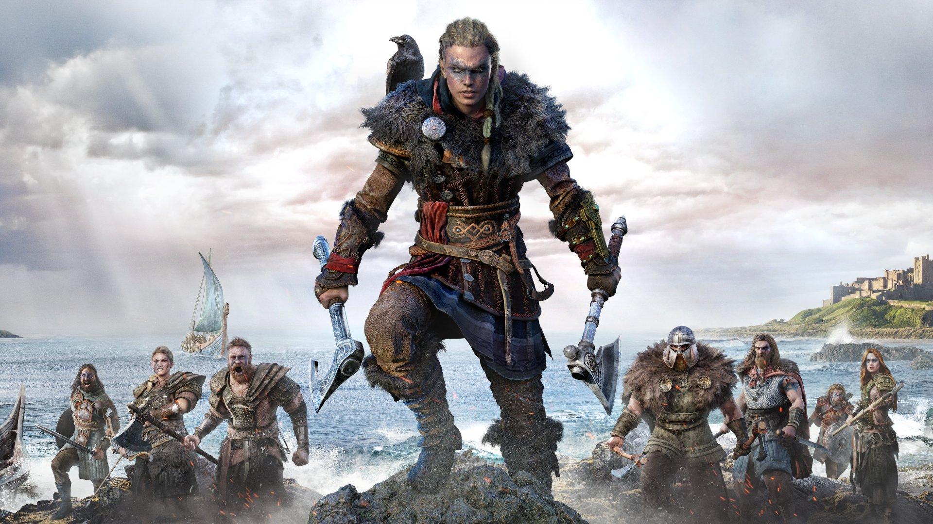 Assassin's Creed Valhalla female Eivor artwork