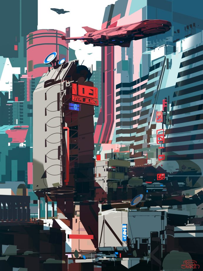 Graphic City by Sparth.