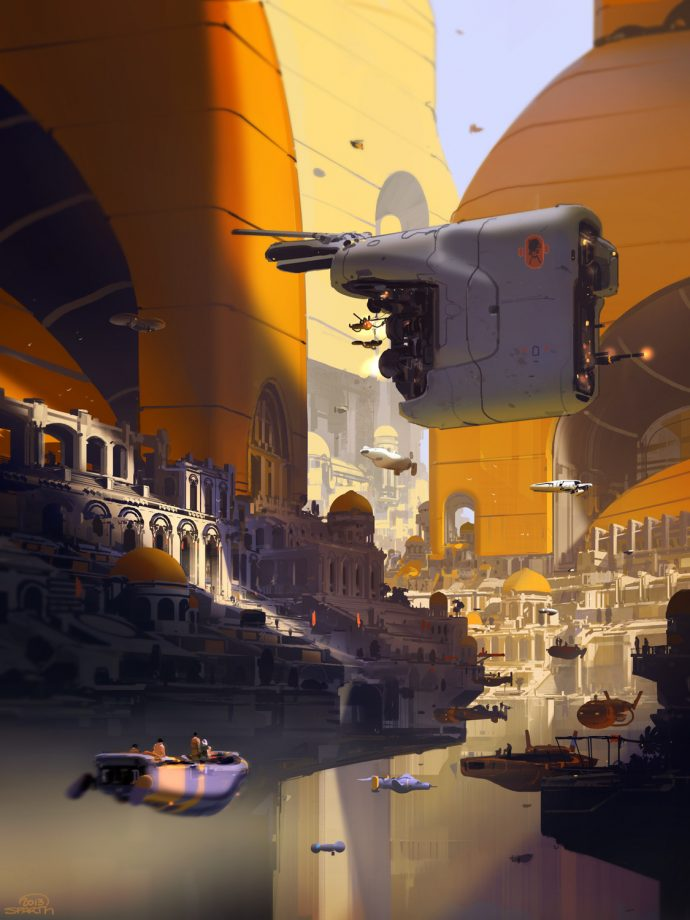 Pendul City by Sparth.