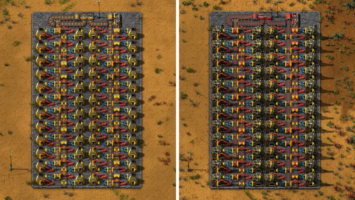Left: Smelting (Yellow Belt). Right: Smelting (Red Belt).