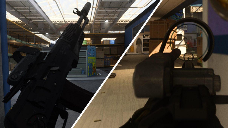 Штурмовая винтовка Ан-94 была добавлена в зону боевых действий в начале 5-го сезона.