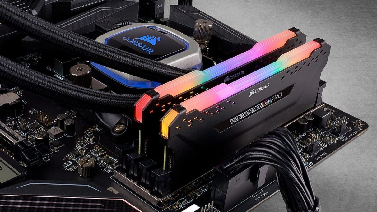 A photo of Corsair's Vengeance RGB Pro RAM