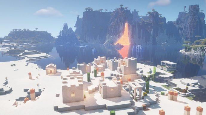Extreme Hills Lavafall