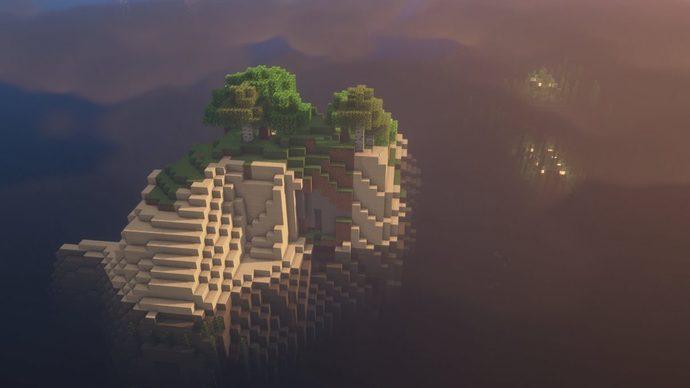 Ocean Monument Island