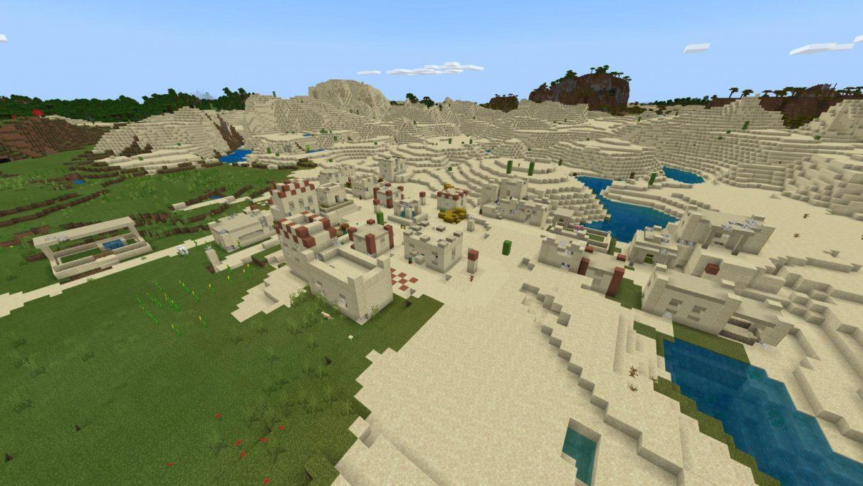 Desert Zombie Village