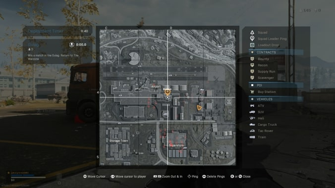 map of airport subway station in Call of Duty Warzone
