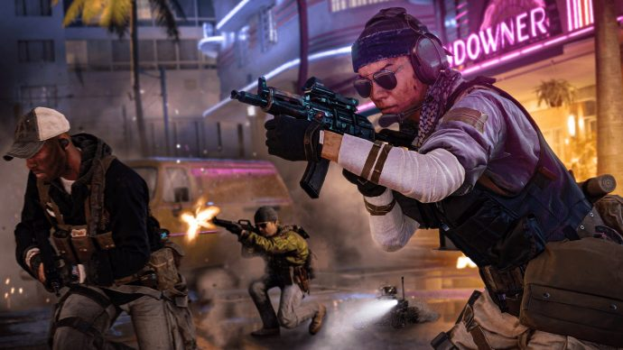 Bienvenidos a Miami in Call Of Duty: Black Ops Cold War multiplayer screenshot.