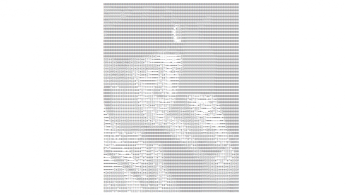 An ASCII art portrait of Oleg Vodnik from Command & Conquer: Red Alert 3