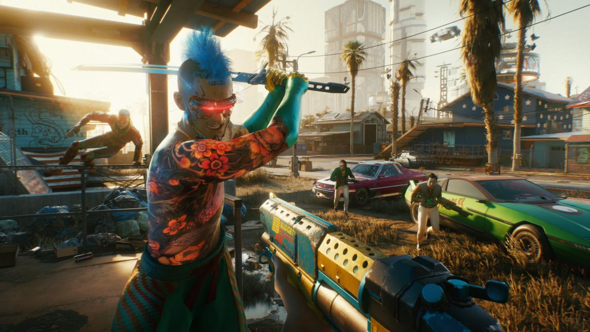 When will Cyberpunk 2077 multiplayer be released?