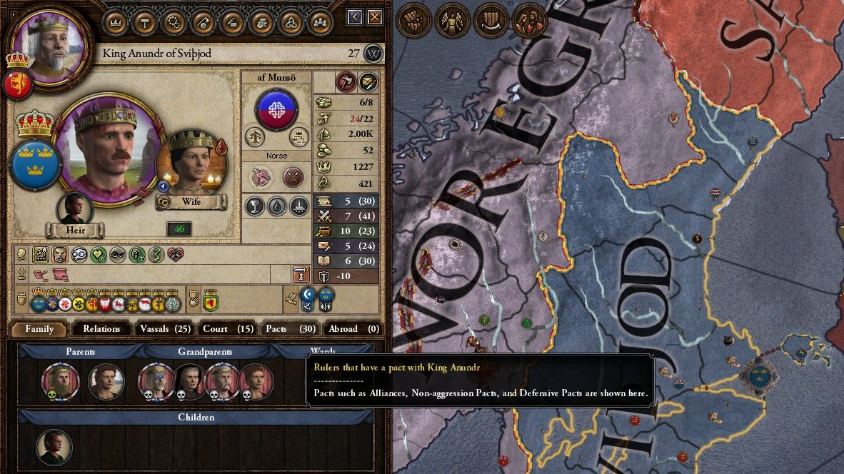 A screenshot of the map in Crusader Kings II