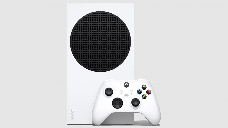 The Xbox Series S.