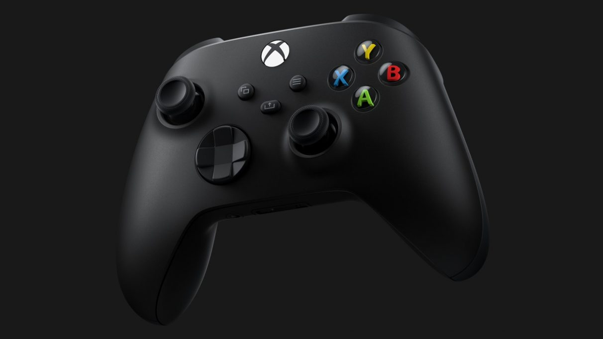 The Xbox Series X controller.