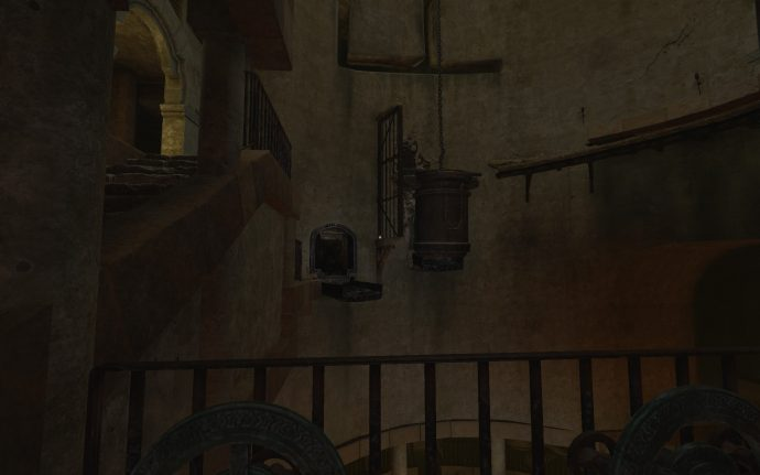 Water hatches in the Cistern area of Amnesia Rebirth