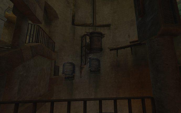 Water tank puzzle in the Cistern area of Amnesia Rebirth