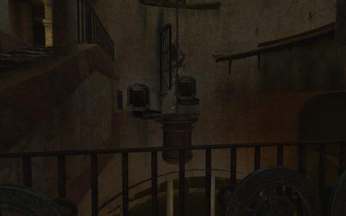 Water tank puzzle in Amnesia Rebirth