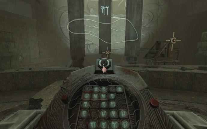 Pillar puzzle solution in Amnesia Rebirth