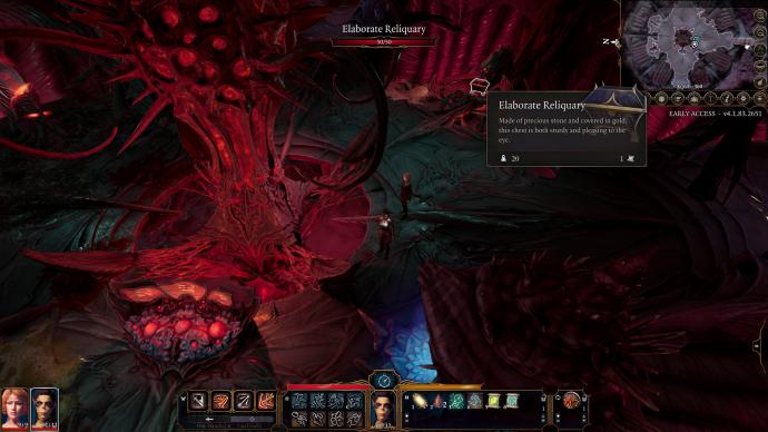 Nautiloid chamber in Baldur's Gate 3