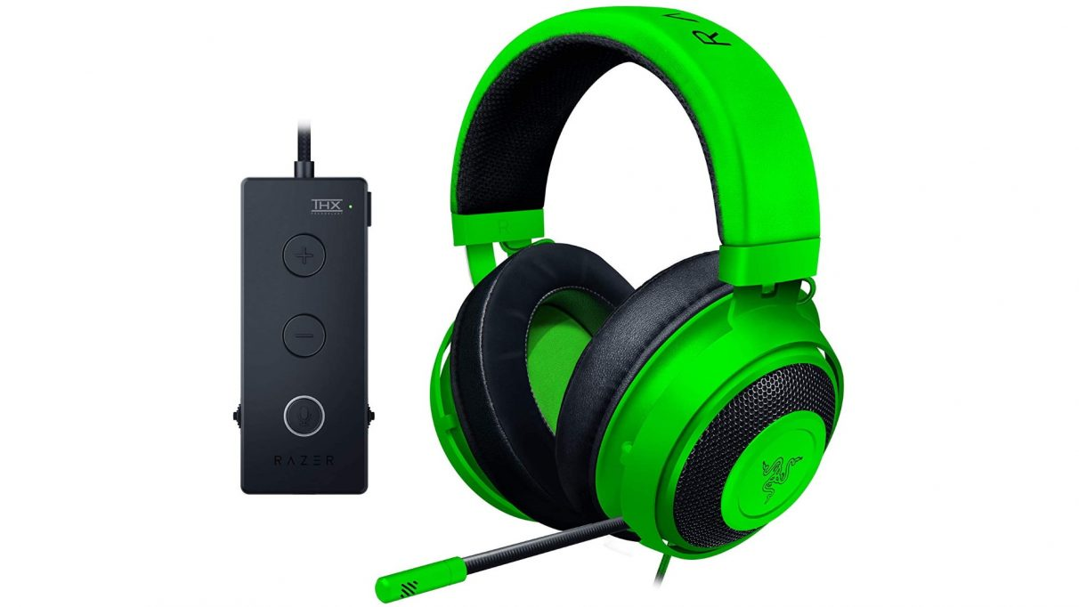 A photo of the Razer Kraken Tournament Edition headset.
