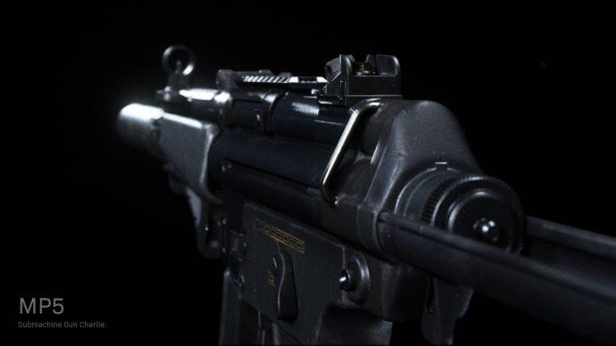 Warzone's MP5