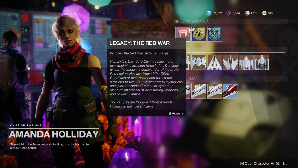 The daft place Destiny 2 hides its old story campaigns.
