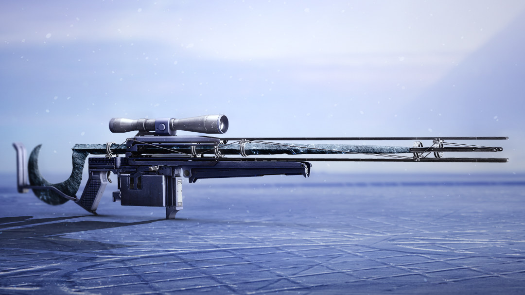 A picture of Cloudstrike, Destiny 2: Beyond Light's new Exotic sniper rifle.