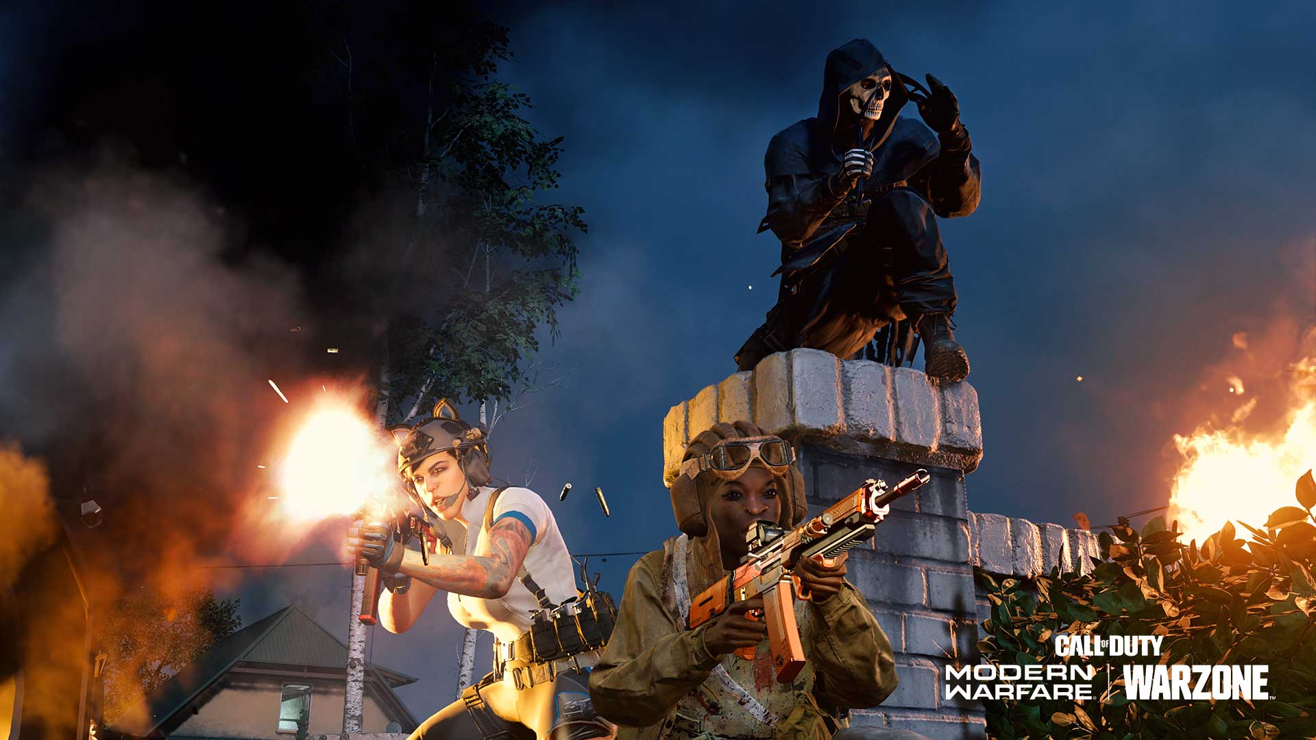 Ghost and the gang go trick or treating in Warzone.