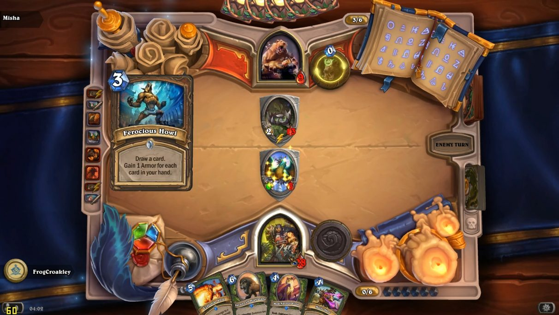 Rexxar versus... a bear trap.